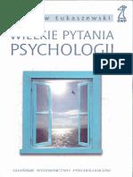 W. Łukaszewski - Wielkie Pytania Psychologii