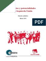 Estudio cualitativo sobre debilidades y fortalezas de IU (PDF)