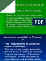 Linha Do Tempo MS Tentarivas de Emancipaçao Nov - 2006