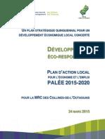 PALÉE 2015-2020 CLD Collines-De-l'Outaouais 20150324