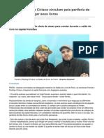 Ferréz e Rodrigo Ciríaco Circulam Pela Periferia de Paris Para Divulgar Seus Livros