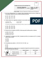 Prueba de Matemática Marzo_V_2