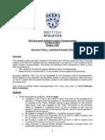 2015 European Athletics Indoor Championships - Final