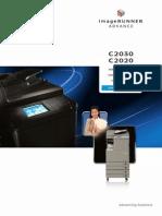 Copier IRADV C2000Srs Brochure Highres