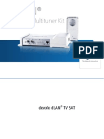 Manuel DLAN TV SAT Multituner Kit Fr