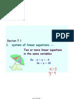 Algebra I Notes Jan. 28