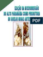 Caracterizaçao Queijos do Alto Paranaiba