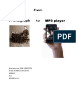 From Phonograph to MP3
