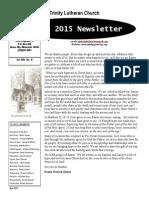 april news letter 2015