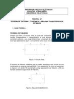 Practica 1 Thvenin y Superposicion