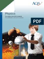 gcse physics spec yr 10