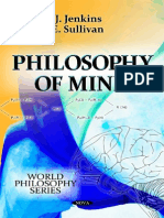 Philosophy of Mind [Jenkins & Sullivan][2012]