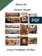 PHYS181 Lab Manual Spring 2015