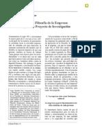 Cruz - Sociología y Filosofía de La Empresa
