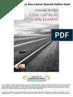 Con Alas Llamas Spanish Edition
