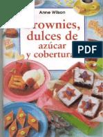 Brownies, Dulces de Azúcar y Coberturas