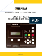 Emcp Generator Set Control Panel - Application & Installation Guide - Lebe5255