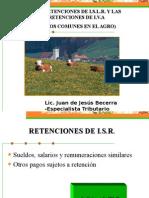 Retenciones en El Agro JUAN BECERRA....