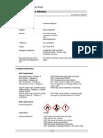 Hydrotite Adhesive SDS-Greenstreak