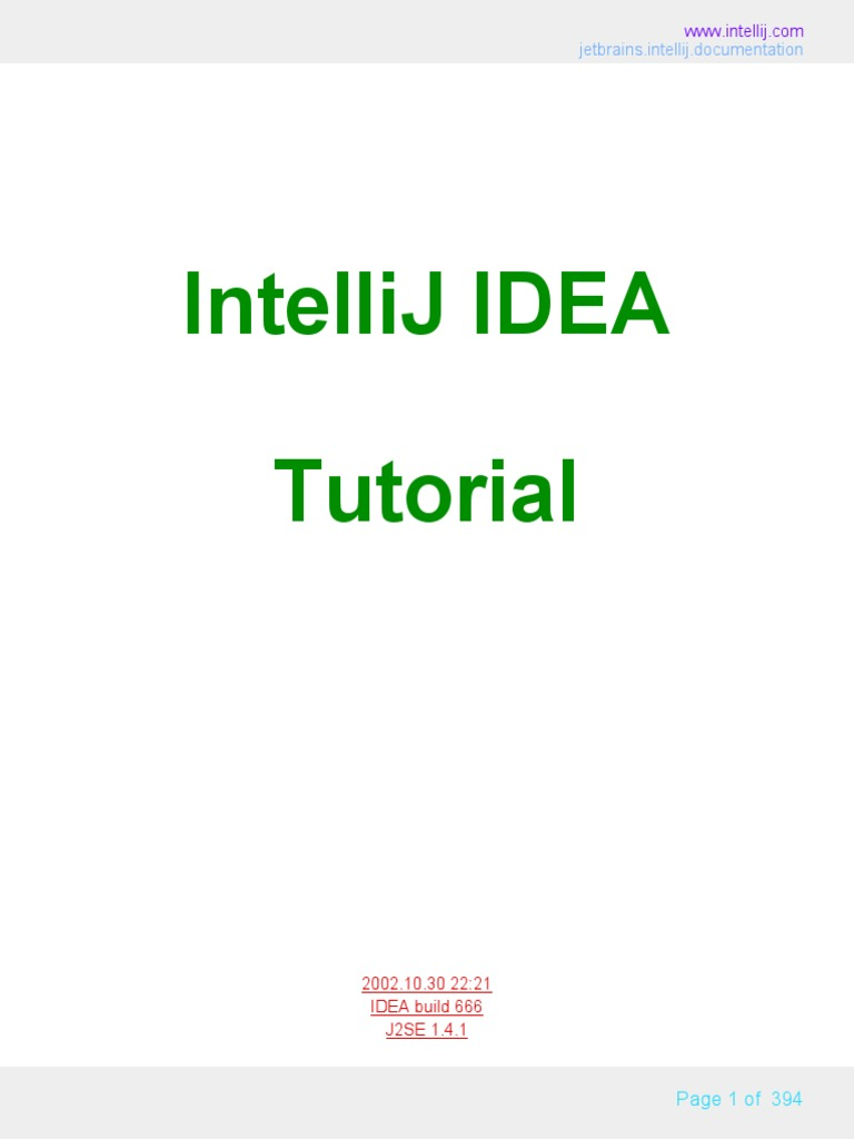 04 Intellij Idea Tutorial Internal | Java (Programming