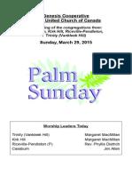 bulletin mar  29