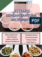 Ekstraksi Dengan Microwave