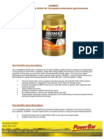 Factsheet PowerBar Isomax English