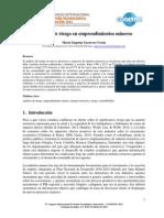 Análisis de Riesgo en Emprendimientos Mineros_MEGU_5SEP2014