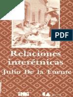 Relaciones Interetnicas - De La Fuente, Julio