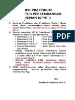 Info Praktikum SPH II