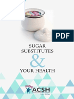 Sugar Substitutes & Your Health
