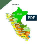 Departamentos Del Perù