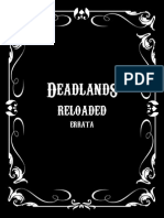 Deadlands Reloaded Errata v1