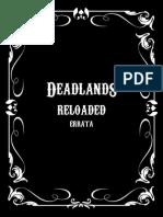 Deadlands Reloaded Errata v1