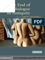 Simon Goldhill the End of Dialogue in Antiquity 2009