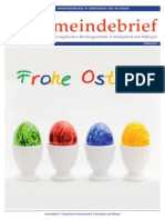 Gemeindebrief 2015 04 Ostern - 16. Ausgabe