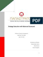 Balanced Scorecard_PAPASTRATOS Company