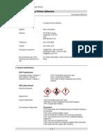 Lockstop Primer Adhesive SDS-Greenstreak