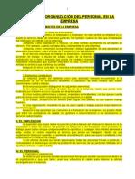 06. La Organización Del Personal en La Empresa