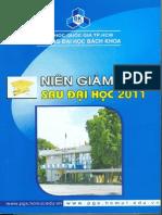 So Tay Hoc Vu 2011 Nien Giam Giam Sau Dai Hoc 2011