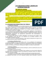 14. Las Organizaciones Laborales Internacionales
