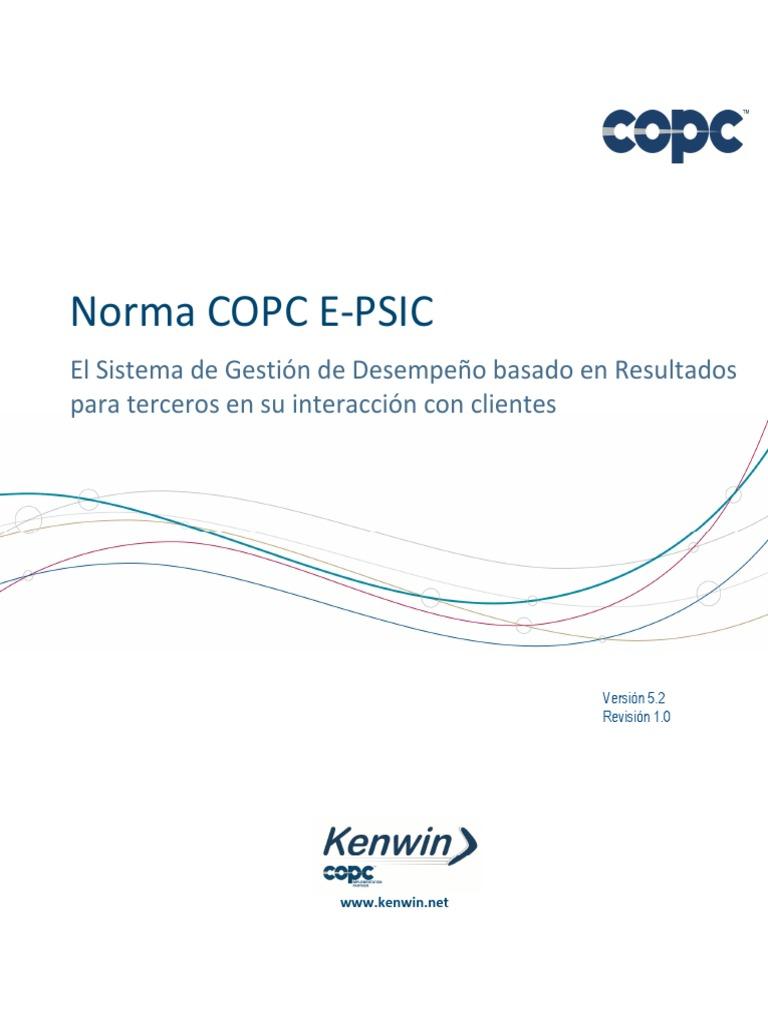 Norma COPC E-PSIC 5.2 r 1.0_esp_mar 14