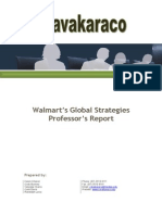 Walmart's Global Strategies Case