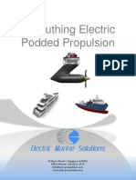 Azimuthing Electric Podded Propulsion