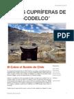 Informe Codelco 2006-2013