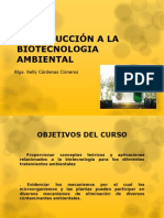 1 Introduccion a La Biotecnologia Ambiental