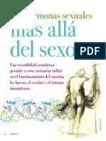 Las Hormonas Sexuales Mas Alla Del Sexo