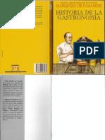 Historia de La Gastronomia - Marquesa de Parabere