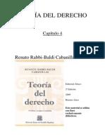 TEORIA DEL DERECHO - Rabbi Baldi 2009 Cap4
