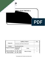Informe de Electronica Digital laboratorio 1